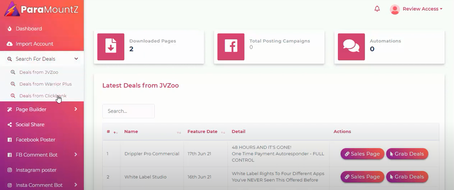 ParaMountZ The perfect app for affiliate marketers and eCommerce
