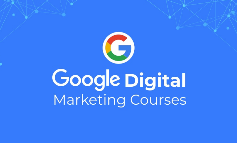 Online free certificate courses using Google