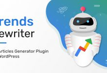 Generate Quality Articles | Trends Rewriter